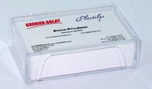 Visitenkartenbox Dosen Verpackung Schachteln Behälter Etui